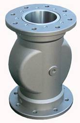 Pinch valve with pneumatic control panell