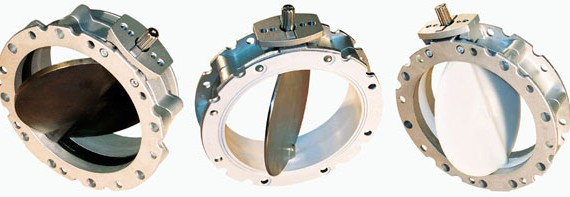 Aluminium butterfly valves