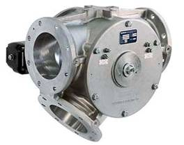 Diverter valves V-type