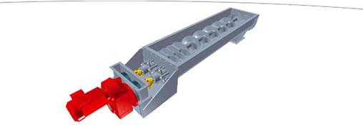 Heavy-duty screw conveyors
